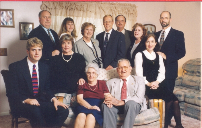 Mitch & Helen Penley Clan